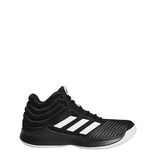 detailed look 28475 c25d0 adidas Pro Spark 2018 (Wide) Shoe Men s Basketball 12 Core Black-White-
