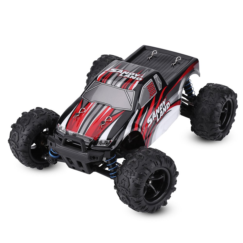 Red Hztyyier Remote Control Car 2colors 2.4GHz RC Drive Racing Truck FourWheel 1 18 Model Vehicle Toy(bluee)