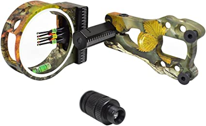 Lightweight Compound Bow Sight Bow Sight Fiber Optics Archery Accessory