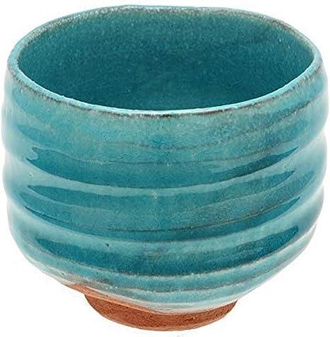 Kotobuki Japanese Matcha Bowl Chawan Tea Ceremony Ceramic Blue Indigo JAPAN MADE