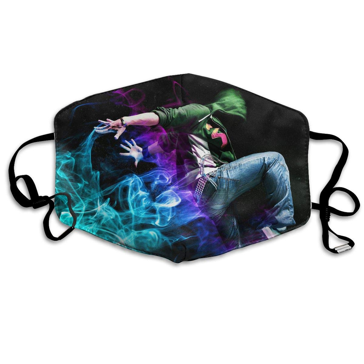 Mouth-Muffle Face Mask Unisex Hip Hop Dance Adjustable Washable Anti-dust Woman Mens