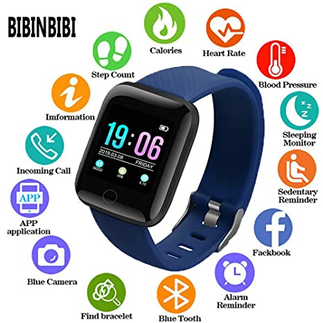 Amazon.com: BIBINBIBI 2019 Man Women Smart Watches ...