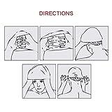 Msicyness Swim Cap Cover Ears for Long Hair