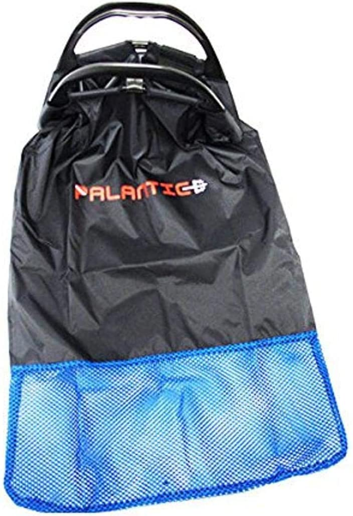 Scuba Choice Palantic Palantic Black Lobster Fish Catch Gear Nylon Game Bag Net with Plastic Handle Game