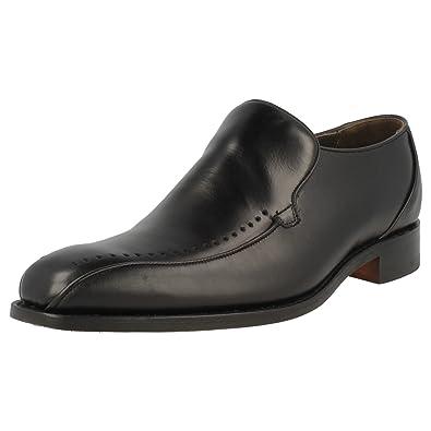 ea50e975e58 Mens Barker Shoes Jolyon Profession Collection Black Calf Leather Slip Ons  FX  Amazon.co.uk  Shoes   Bags