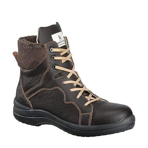 tout neuf 09fc6 a5e09 Lemaitre Chaussure de sécurité Femme Haute S3 Brunelle SRC