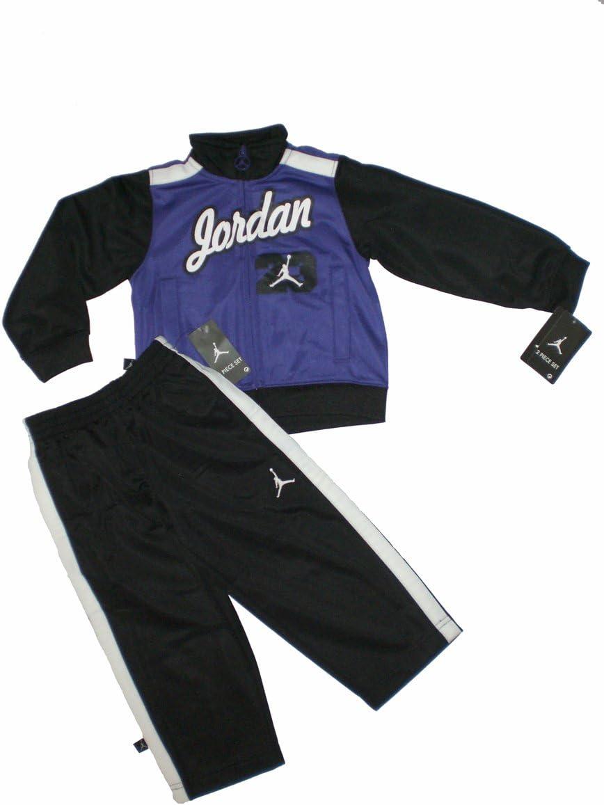 Nike Air Jordan bebé chaqueta chándal Pantalones Traje Set, tamaño ...