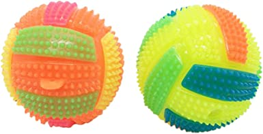 JERFER Pelota de voleibol con luz LED intermitente para niños ...