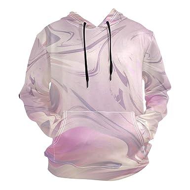 41ea0bc2 Glamorous Purple Marble Pattern Unisex 3D Novelty Hoodie Hooded ...