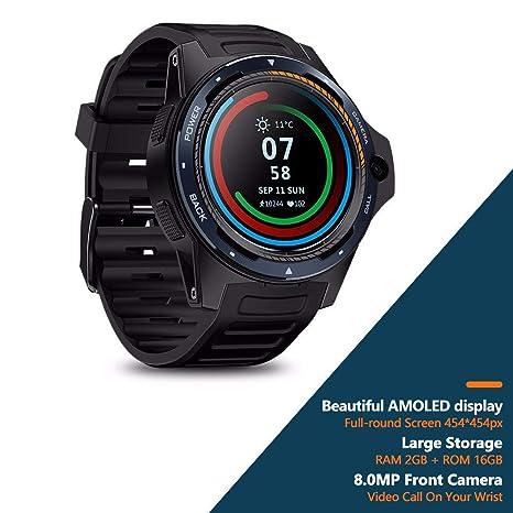 Sistema Dual Smartwatch 4G LTE Dual-Chip Pulsera Inteligente ...