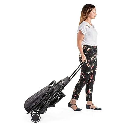 t/ürkis Einhand-Schlie/ßmechanismus Chicco Trolley me Buggy wie ein Koffertrolley ab Geburt bis 15 kg inkl Tragegriff f/ür den Transport und Regenschutz