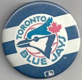VINTAGE TORONTO BLUE JAYS LARGE COLLECTIBLE PIN BUTTON