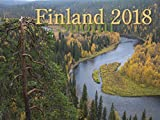 Finland Picture Calendar for 2018. Written in English and Finnish - Weeks start with Sunday - Name Days - 13 months - 12 inches x 18 inches opened. Look for other products under Nordiskal.