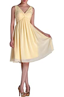 fa307da7e70e Adorona Chiffon Natrual Knee Length One Shoulder Homecoming Dresses ...