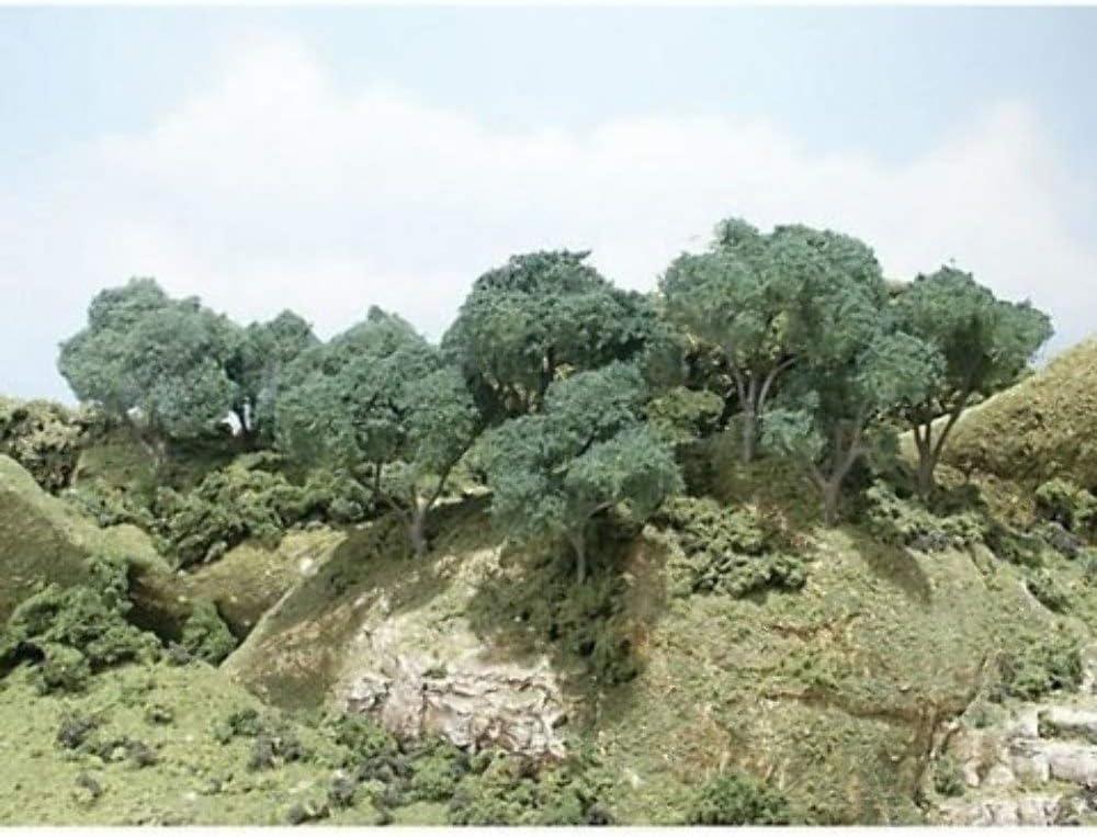 Hardwood Forest Metal Tree Kit 2- inches Woodland Scenics