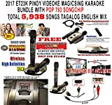Magic Sing ET23KH 5,145 SONGS BUNDLED WITH POP793 SONG CHIP - TOTAL SONGS 5,938 SONGS TAGALOG ENGLISH SONGS - 2 Wireless Mic HDMI KARAOKE MAGICSING VIDEOKE