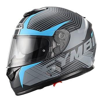 NZI - Casco integral SYMBIO TERA Negro Azul Talla L