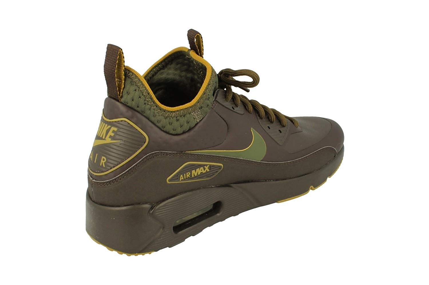 hot sale online e6c20 9fea2 Nike Air Max 90 Ultra Mid Winter SE Mens Hi Top Trainers AA4423 Sneakers  Shoes (UK 7.5 US 8.5 EU 42, Velvet Brown 200)  Amazon.co.uk  Shoes   Bags