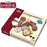 Lambertz伦巴兹精美混合巧克力曲奇饼干500g