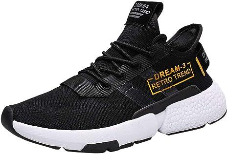 VECDY Zapatos Hombre, 2019 Moda para Hombre Ocio Atlético Zapatillas De Deporte Zapatillas Deportivas Zapatillas Ligeras para Caminar Casual Zapatos De Aire Libre: Amazon.es: Ropa y accesorios