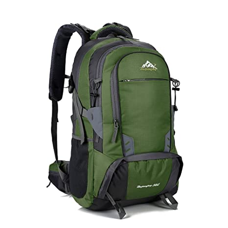 114a775e85 Image Unavailable. Image not available for. Color  Lixada 50L Water  Resistant Backpack Outdoor Sport Travel Laptop Daypack Camping Climbing  Hiking ...