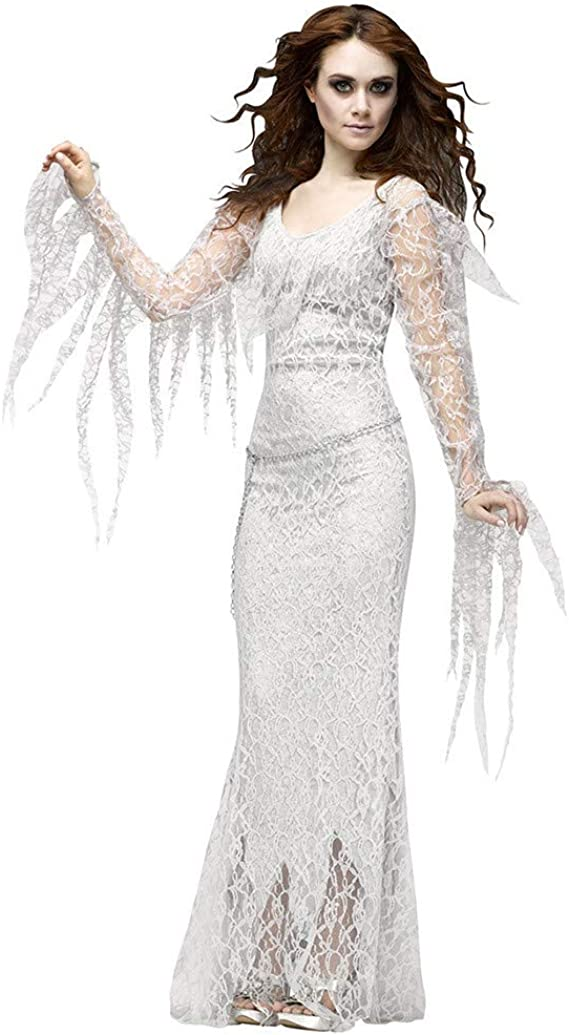 Goosun Disfraz Novia Cadaver Halloween Vampiresa Reina Cosplay ...