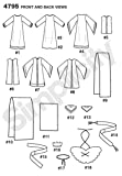 Simplicity 4795 Historical and Biblical Costume for