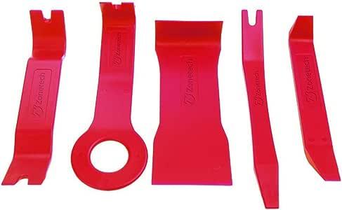 Zone Tech ET0010 Car Trim Removal Dismantle Tools Kit, 5 Piece (no Scratch Car Door Interior)