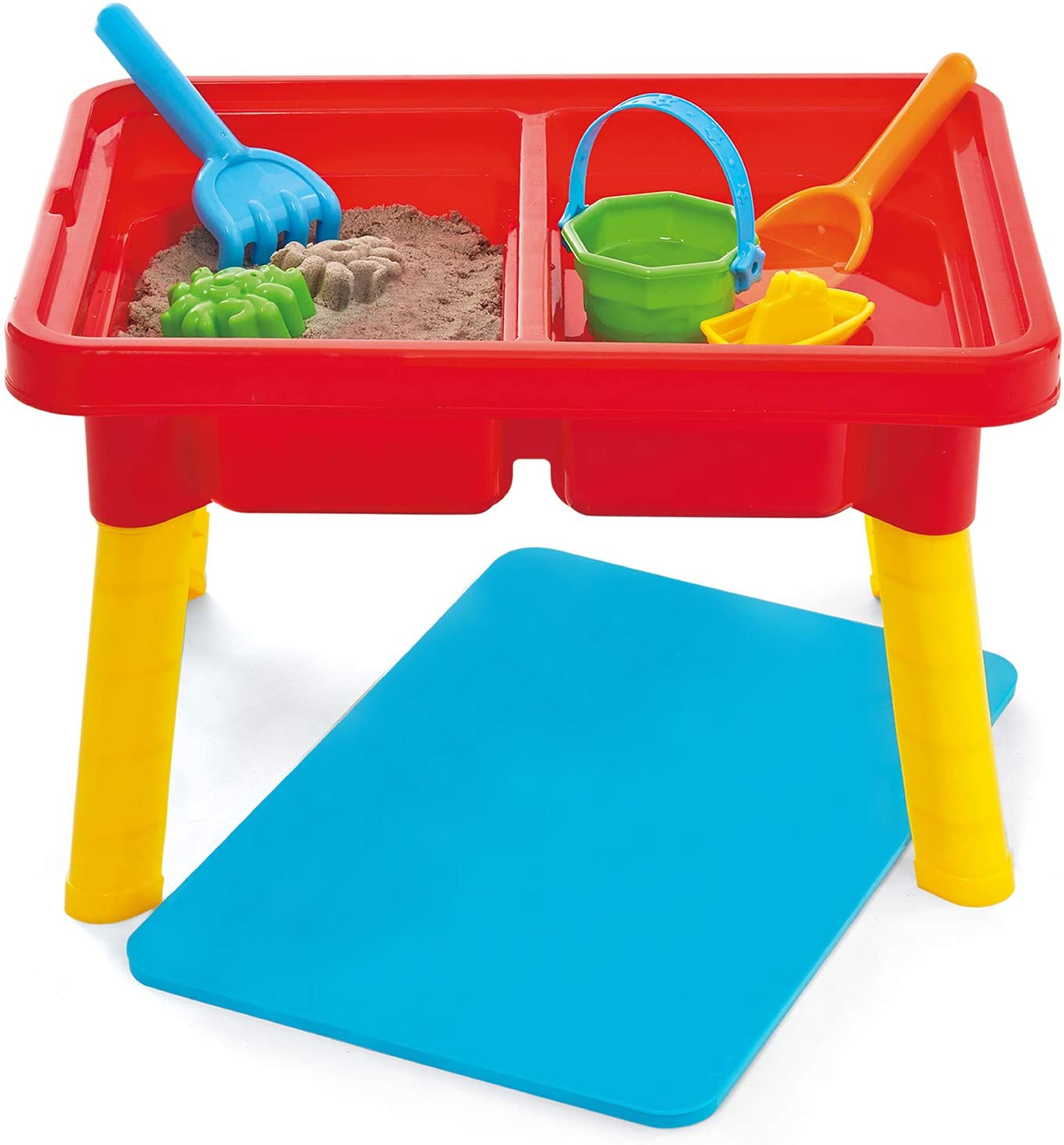 Kidoozie G02521 Sand N Splash Activity Table With Storage Compartment And Lid Sand Beach Toys Amazon Canada