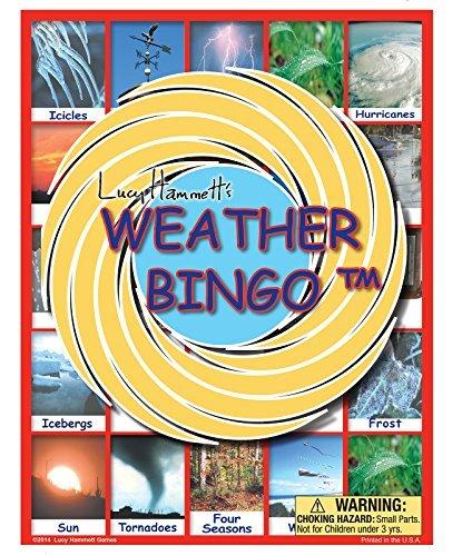 (Weather Bingo Game by Lucy Hammett Games)