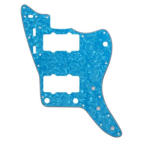 BQLZR Shallow 4ply Humbucker guitarra Golpeador 17 hole HH ...