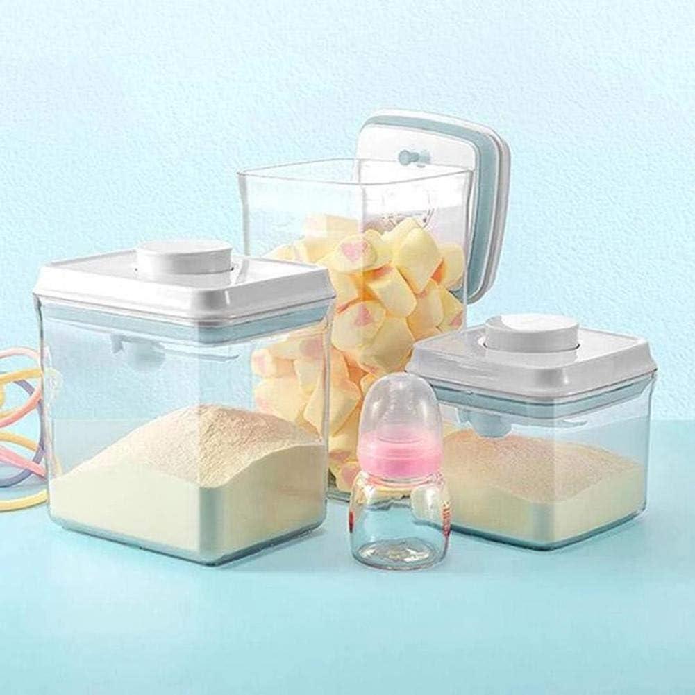 Aufbewahrungsbox Multifunktional Tragbare Versiegelte Dose Lebensmittel Vorratsbeh/älter Geeignet F/ür Obst Milchpulver Getreide N/üsse
