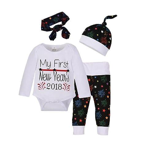 Amazon.com: Bebé ropa Set, ppbuy recién nacidos Niñas Niños ...