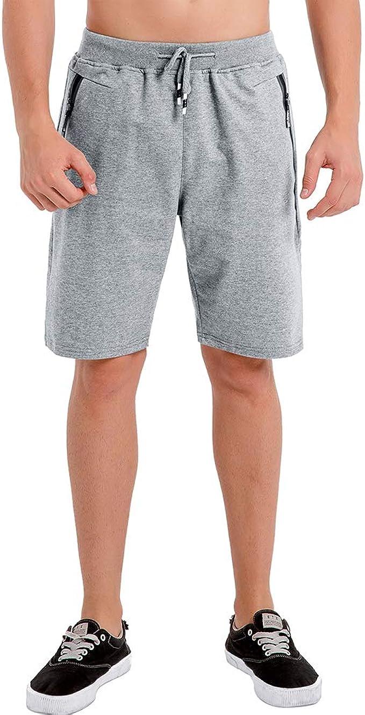 Umelar Pantalón Corto Hombre Pantalones Cortos Deportivos de Algodón para Hombres Pantalones Cortos de Gimnasio para Entrenamiento de Baloncesto de Tenis al Aire Libre: Amazon.es: Ropa y accesorios