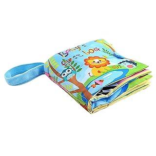 YeahiBaby Primo Libro di Stoffa del Bambino - Libro di apprendimento prescolare educativo in anticipo del Libro Molle del Tessuto per i Bambini del Bambino