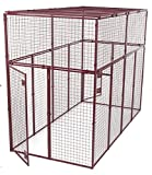Animal House Heavy Duty Modular Pet Kennel (7.5' Hx10'Lx5'W) 244.2 lbs