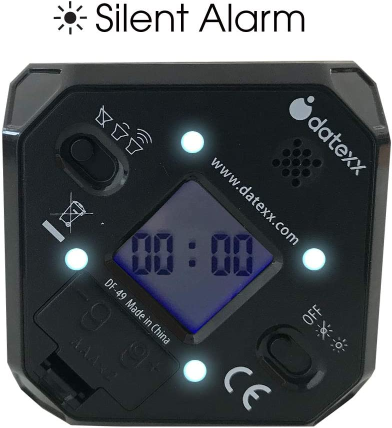 TimeCube Plus Voreingestellter Timer mit 4 LED-Leuchten f/ür Zeitmanagement erh/ältlich in unterschiedlichen Farben mit Countdown-Einstellungen und einstellbarer Lautst/ärke