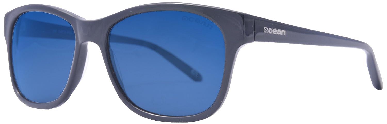 OCEAN SUNGLASSES Taylor - lunettes de soleil polarisÃBlackrolles - Monture : Marron - Verres : Revo Bleu (19601.2T) FDq211YPmI