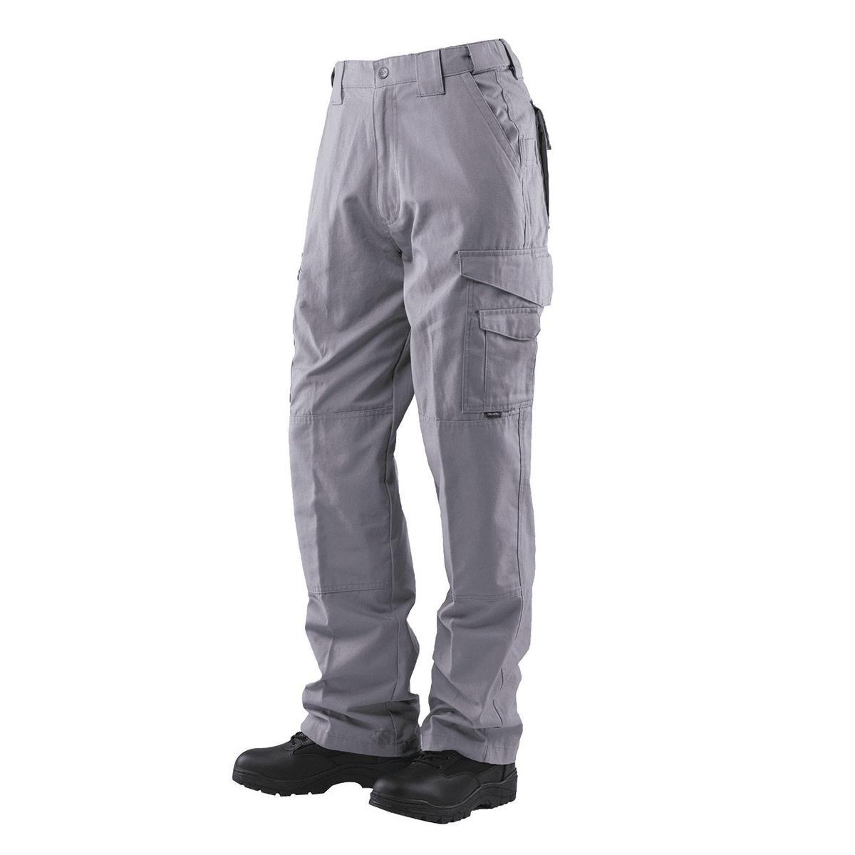 Tru-Spec 1089 Mens 24-7 Lightweight Tactical Pants, Light Grey, Size 28xU