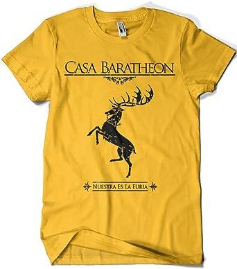 1505-Camiseta Juego De Tronos Casa Baratheon: Amazon.es: Ropa y accesorios