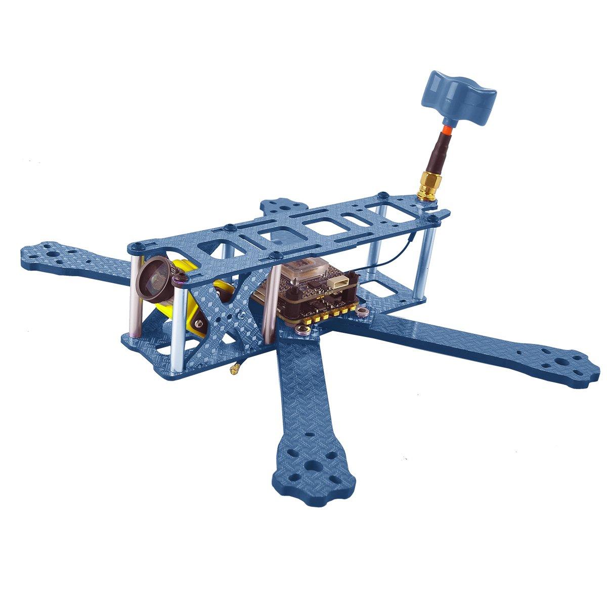 DroneAcc QAV215 Fibra de carbono FPV Racing Drone marco Quadcopter ...