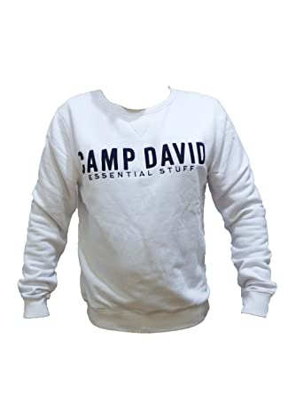 look out for free delivery best sale Camp David Sweatshirt ESSNTIAL Stuff 2018 OPTICWHITE CCB ...