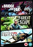 A Bridge Too Far/The Great Escape/Battle Of Britain [DVD]
