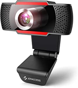 1080P Webcam with microphone ,Web camera with microphone for PC, USB HD webcam for Desktop,Video Calls,Plug and Play,Recording,Studying,Game and Conferencing on Zoom/ Youtube and skype