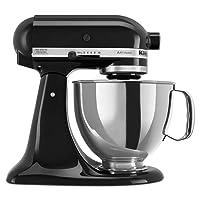 KitchenAid RRK150OB 5 Qt. Artisan Series - Onyx Black (Renewed)
