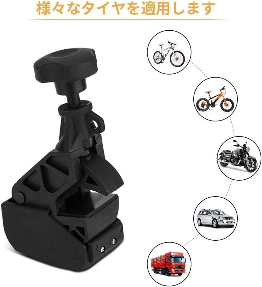Nylon Tire Changer Perle Pince Centre Drop Pince De Jante Heavy Duty Machine pour La plupart Changeur De Pneu Noir Tbest Tire Changer Clamp