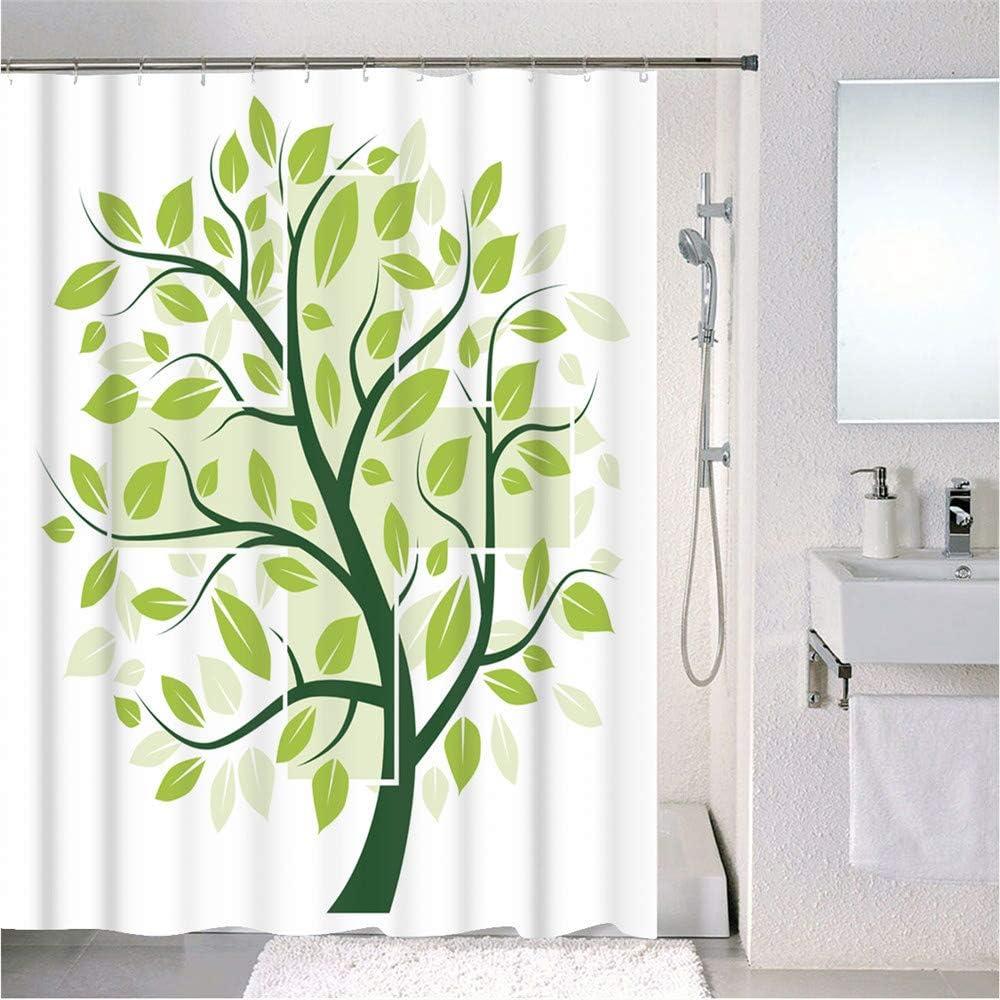 XINGYUNSHOP Cortinas de baño ecológicas, a Prueba de Moho, Impermeables, para baño, Cortinas de baño, Cortinas de baño 180X200CM