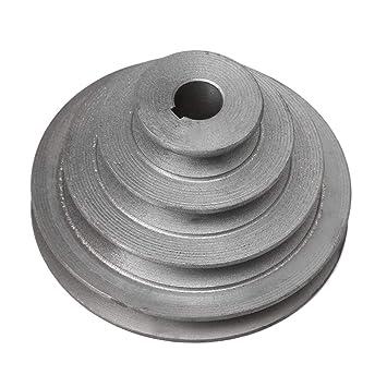 Yibuy Pagoda - Correa de polea para cinturón Tipo V 16mm Bore OD 42-110mm 4 Step: Amazon.es: Informática