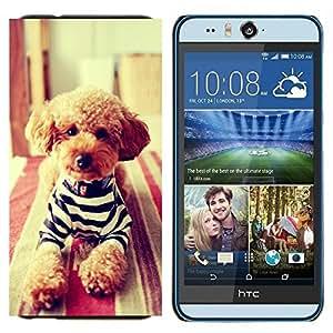 - Dog Cute Pattern Kidding - - Cubierta del caso de impacto con el patr??n Art Designs FOR HTC Desire EYE M910x Queen Pattern