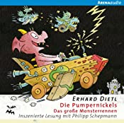Das große Monsterrennen (Die Pumpernickels 3)   Erhard Dietl